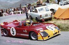 Nanni Galli ALFA ROMEO T33/TT/3 TARGA FLORIO 1972 Fotografia