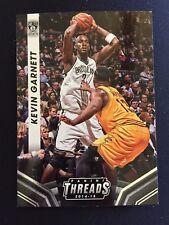 2014-15 Panini Threads NBA Basketball Card 106 Kevin Garnett Brooklyn Nets