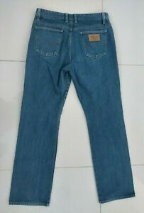 RM Williams Womens Blue Denim Jeans Size 13 TJ422 Australian Made Straight Leg