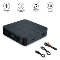 3.5mm 2in1Bluetooth 5.0 Transmitter Receiver For TV Stereo Car Adapter X9F3