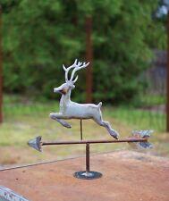 Rustic Deer Table Top Galzanized Weathervane Stag Cabin Lodge Holiday Decor