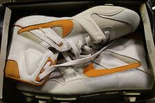 c.1990 Nike Barracuda Stove High Top Football Cleats Tennessee Vols Orange 9-1/2