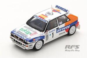 Lancia Delta HF Integrale Sainz Rallye Monte Carlo 1993 REPSOL 1:43 Spark 9024