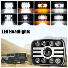 "7x6"" LED Headlight DRL Turn Signal Halo Beam White Amber For Toyota Pickup Truck"
