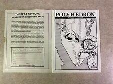 POLYHEDRON 1983 Issue 18 Volume 4 Number 3 RPGA Network TSR Newszine #T940