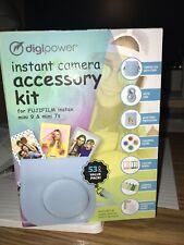 Digipower Instant Camera 53 pcs Accessory Kit FUJIFILM Instax Camera Mini 9 & 7