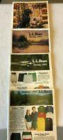 LL Bean Set of 4 Spring/Spring/Summer/Fall Catalog 1981