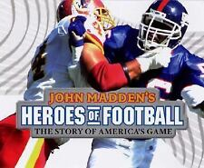 John Madden Heroes of Football NEW Players HISTORY Sports KIDS Book GAME Photos