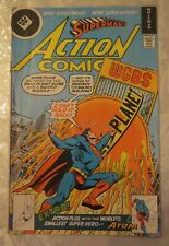 FINE 1978 Whitman Variant SUPERMAN ACTION COMIC 1st Appearance of MICROWAVE MAN