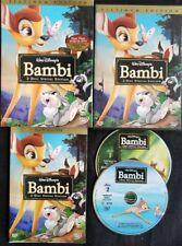 Bambi (DVD 2011 2-Disc Set, Special Ed/Platinum Ed) W/ Slipcover 100% Guaranteed