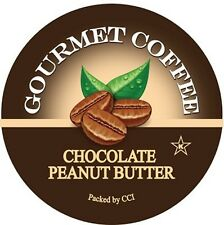 Chocolate Peanut Butter Coffee, Single Serve Cups for Keurig K-cup Machines