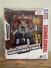 Transformers War For Cybertron Trilogy Optimus Prime Hasbro Netflix Walmart