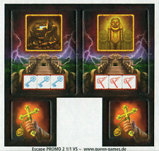 Doomed Promo for Escape: Curse Of The Temple Board Game Queen Games Queenie 2