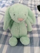 JellyCat pequeño Menta despego Bunny en buenas condiciones