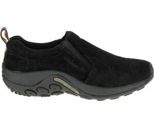 Merrell Men's Jungle Moc Slip-On Shoe, Midnight Black (J60825) - Choose Size