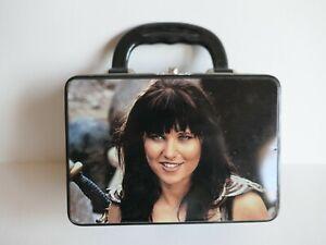 Vintage XENA WARRIOR PRINCESS 1997 Metal Tin Lunch Box