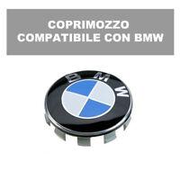COMPATIBILE CON BMW CERCHIONI COPRIMOZZO TAPPO RUOTA CERCHI 68MM LEGA pn