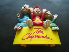 Alvin and The Chipmunks Plastic Toothbrush Holder 1984 Helm Toy No Toothbrushes
