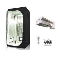 CMH CDM 315W Grow Light Kit W/Multi Sized Grow Tent 600D Indoor Hydro  System