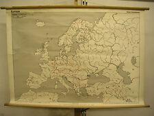 Scheda crocifissi Muro Mappa Europa Europe beschriftbar carta 1zu5mio 137x95cm Map