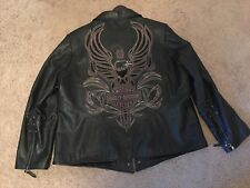 Mint! Women's Harley-Davidson Black Leather Jacket 2W Mint Condition!