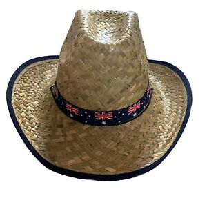 Straw Hat Bush Hat Outback Hat Australian Cowboy Hat Beach Hat Boonie Cowboy Hat