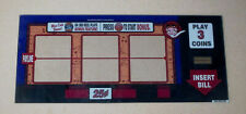 "Betty Boop Slot Mac Glass Art Vintage Vegas RARE ART 18"" X 8"""