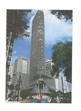 Sao Paulo, Brasil Terraco Italia Restaurant unused postcard 1977