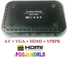 Ultra portable VGA HD TV FULL HDMI Media Player MP3 AVI DVD 1080 MP4 MKV FLV