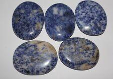 Sodalith Scheibensteine / Taschensteine ca.35 bis 55 mm