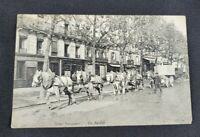 Scenes Parisiennes - Un Fardier Vintage Postcard (Unposted)
