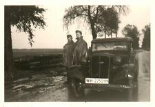 Foto, Pkw im Dienst der Wehrmacht (N)20570