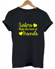 SISTERS MAKE THE BEST OF FRIENDS, BIG /LITTLE SISTER Family Baby, Childs T-Shirt