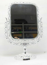 1X New Pedestal Rectangle Makeup Mirror Double Sided