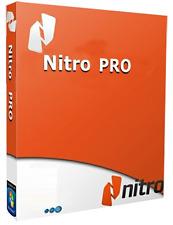 Nitro Pro 10 - PDF Viewer, Creator, Editor, Converter 3PC Instant Delivery