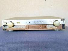 Gold tone Technics SU-C1010 DC Control Preamp Preamplifier works,