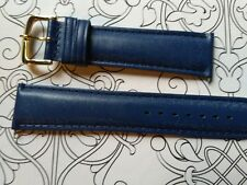 BRACELET  DE MONTRE watch band cuir Véritable  VEAU   MARINE 20mm    / FP 42.0