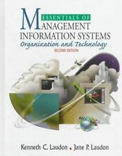 Essentials of Management Information Systems: Organization and Technology by La