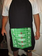 PENIS BBQ APRON FUNNY GAG GIFT - FOOTBALL - BIRTHDAY - HOLIDAY GIFT - HANDMADE