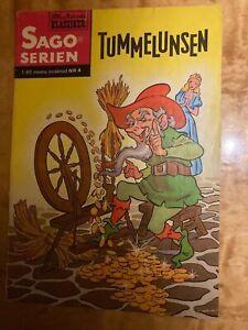 Classics Illustrated Swedish comic magazine 1957 Rumpelstiltskin