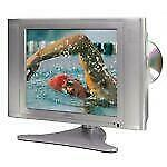 """Audiovox FPE1505DV 15"""" 1080p HD LCD Television W Built in DVD Player Computer In"""