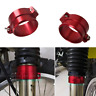 RED Front Fork Dust Cover Boot Holder Clamp For SUZUKI DR-Z DRZ 400S/E 2000-2019