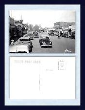 WYOMING POWELL MAIN ST. SANBORN REAL PHOTO POSTCARD V2579 KODAK BACK CIRCA 1950