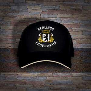 Berliner Feuerwehr Germany Berlin City Firefighter Embroidered Cap Hat
