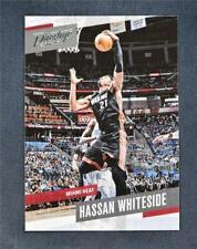 2017-18 Prestige Base #41 Hassan Whiteside