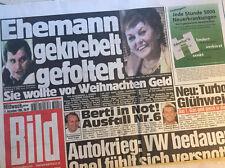 Bildzeitung vom 11.12.1996 * 20. 21. 22. Geburtstag Geschenk * Berti Vogts