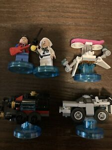 Lego Dimensions Back To The Future Level Pack And Fun Pack (Glue)