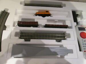 Piko 59022 Digital-Startset DR-Güterzug mit Bettungsgleis H0