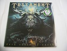 TESTAMENT - DARK ROOTS OF EARTH - REISSUE 2LP BLACK VINYL NEW SEALED 2015