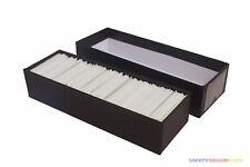 """1000 Glassine Envelopes Size #1 - 1 3/4"""" x 2 7/8"""" w/ Black Storage Box Philately"""